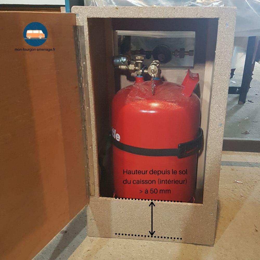 Caisson gaz etanche normes vasp