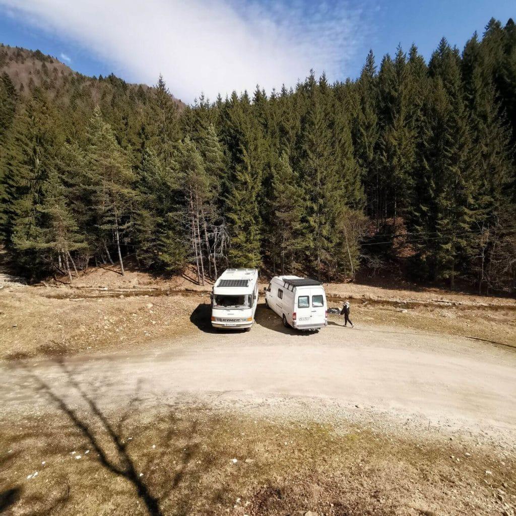 galerie de toit, support panneau solaire, fourgon, camping car