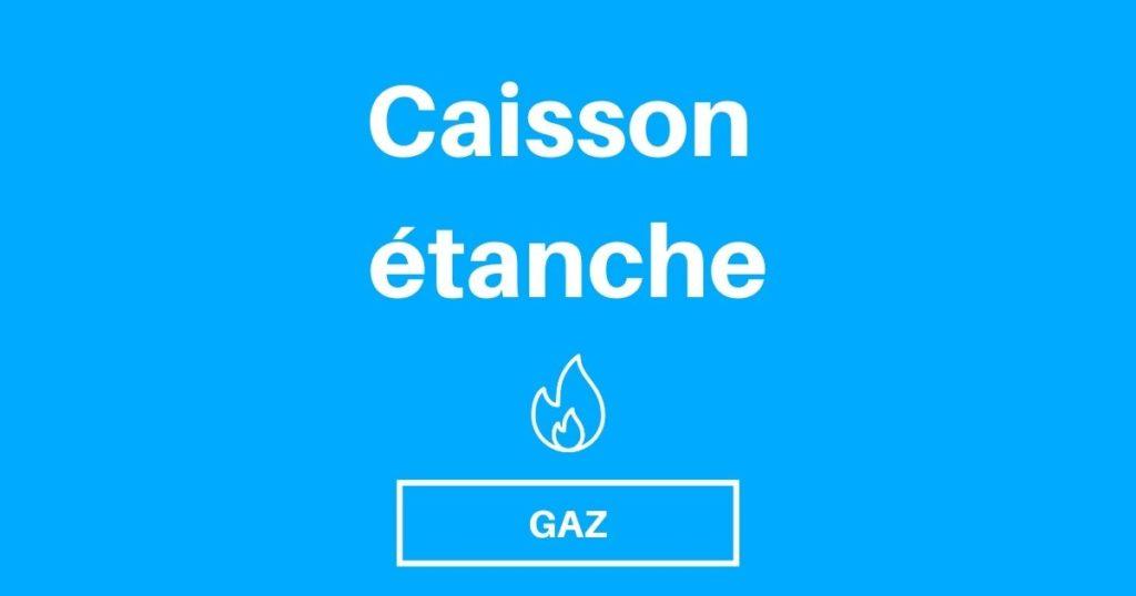 Caisson Gaz, Etanche, bouteille gaz