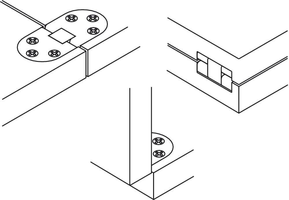 schéma charnière, fourgon