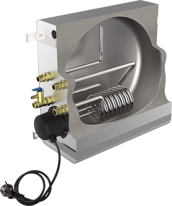 chauffe-eau échangeur thermique, ATI chauffe-eau