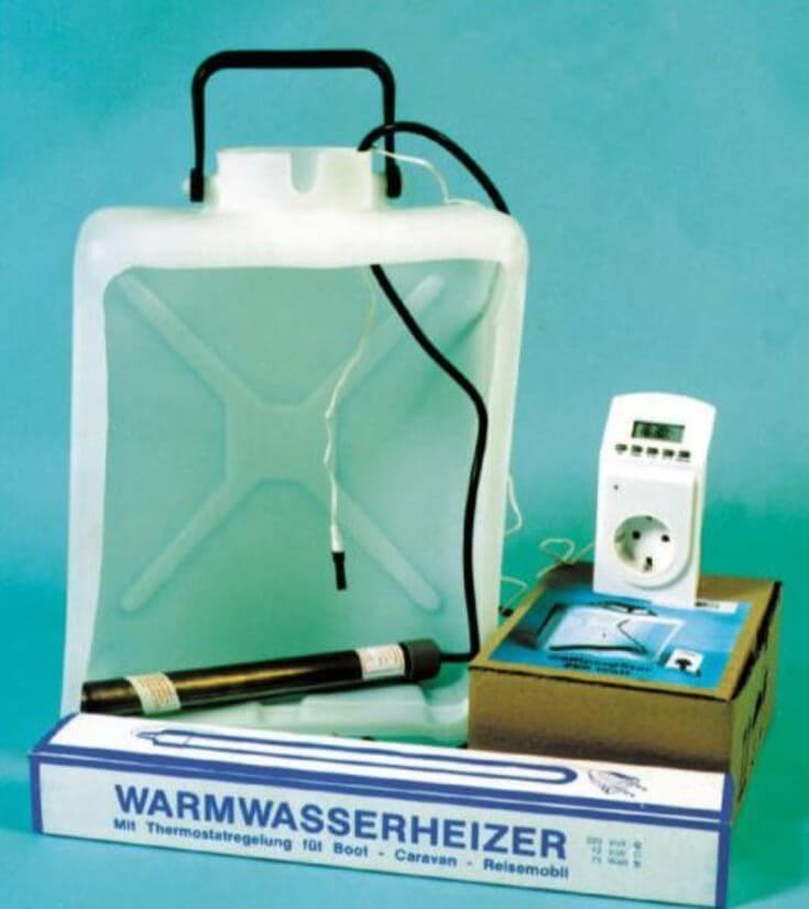 Résistance thermostatée, chauffe-eau jerrican, reimo resistance
