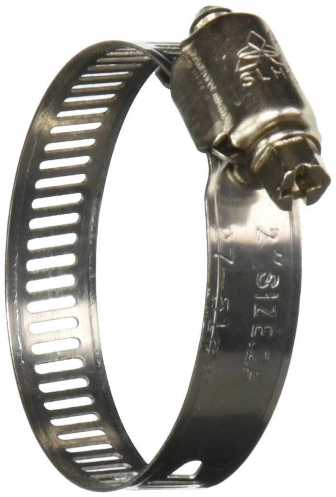 Collier de serrage fragile