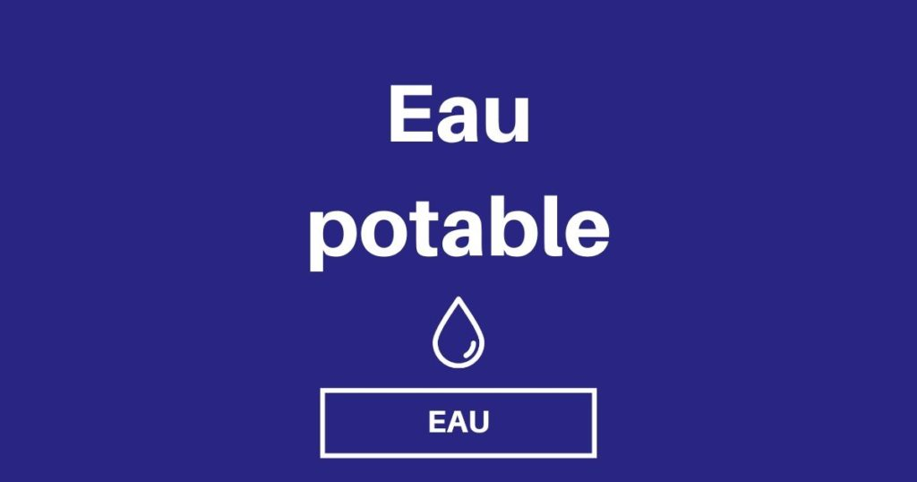 eau potable fourgon camping car