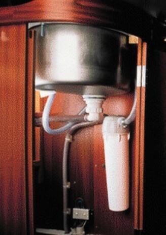 Katadyn domestique, sous évier, sur circuit d'eau, eau potable