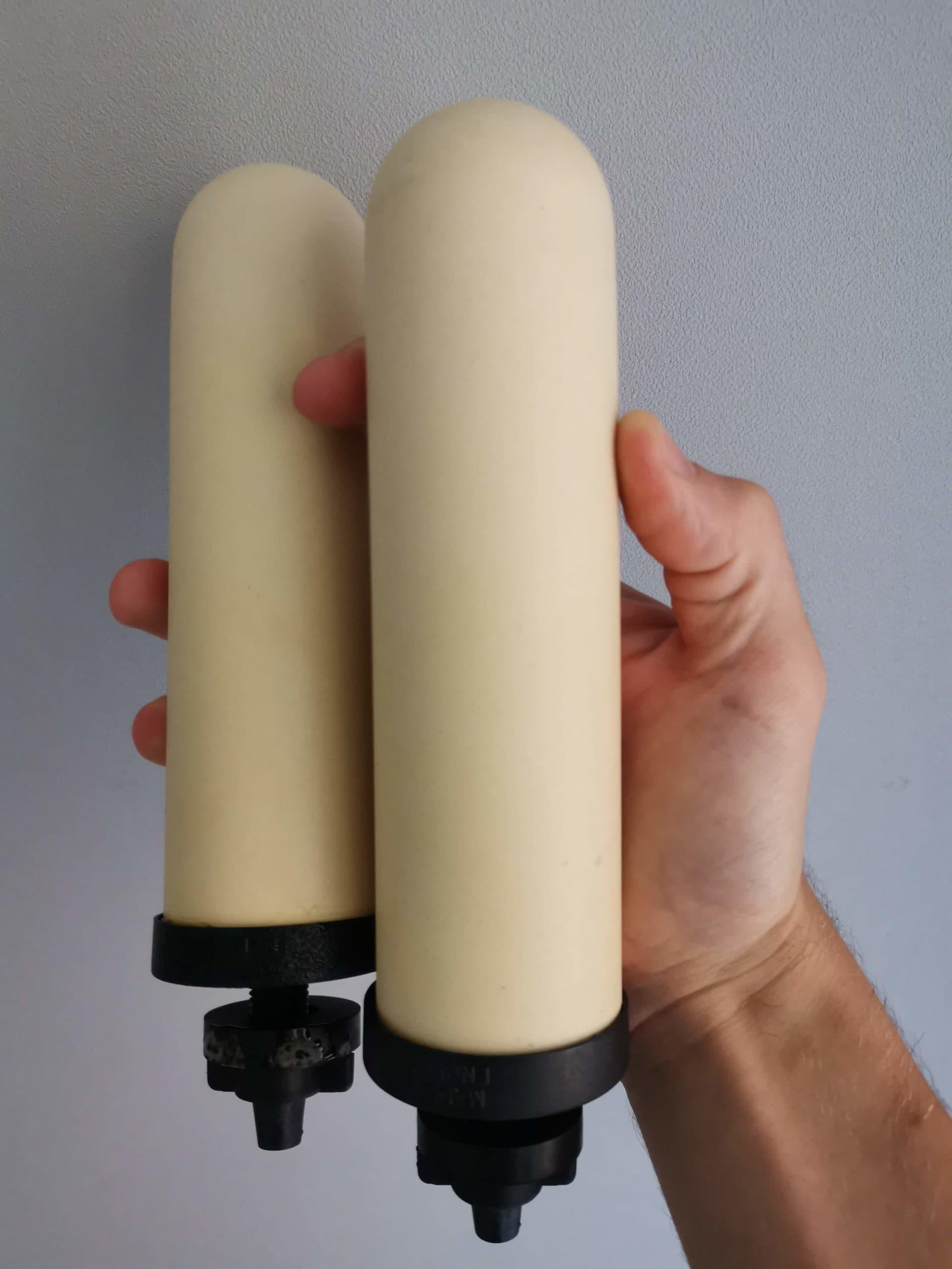 filtres doulton, filtres en céramiques doulton, british berkefeld