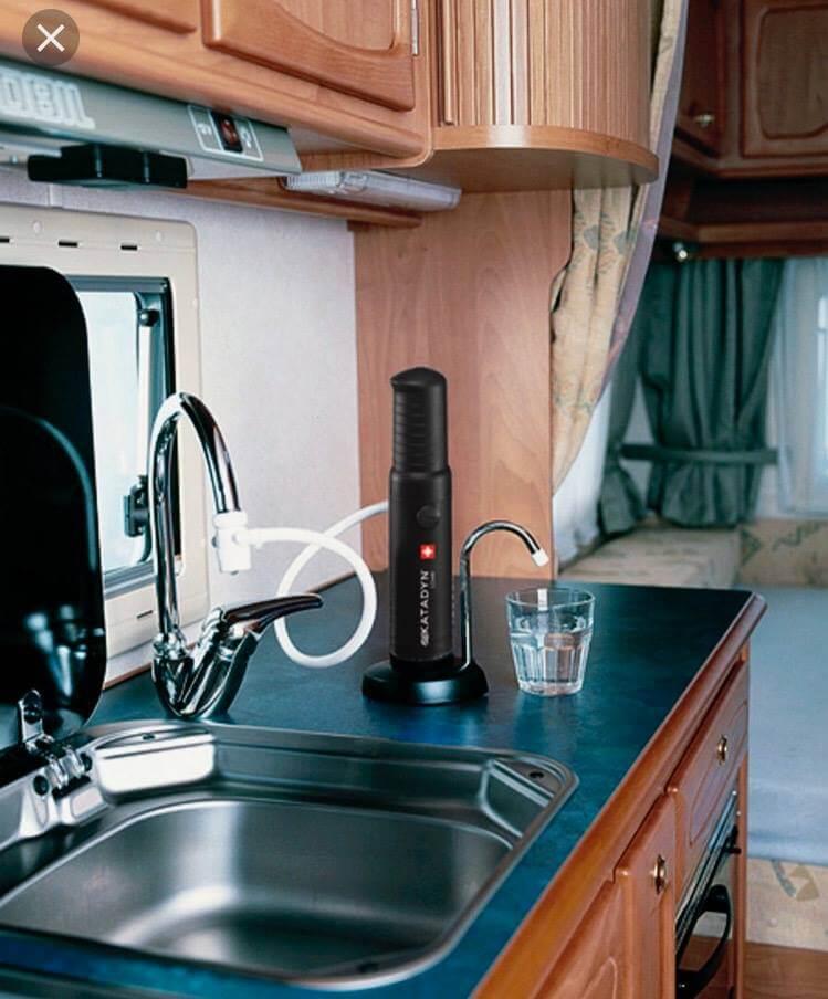 installation katadyn combi, eau potable camping-car