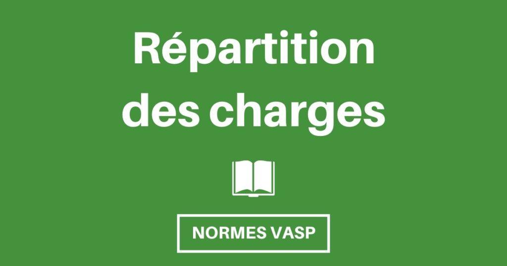 normes vasp repartition charges og