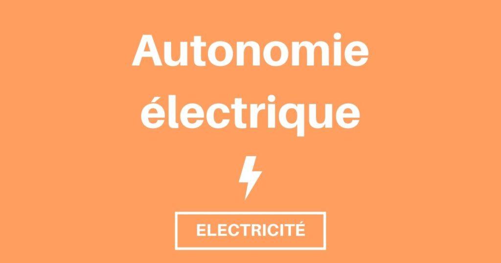 Bien anticiper ses besoins électriques