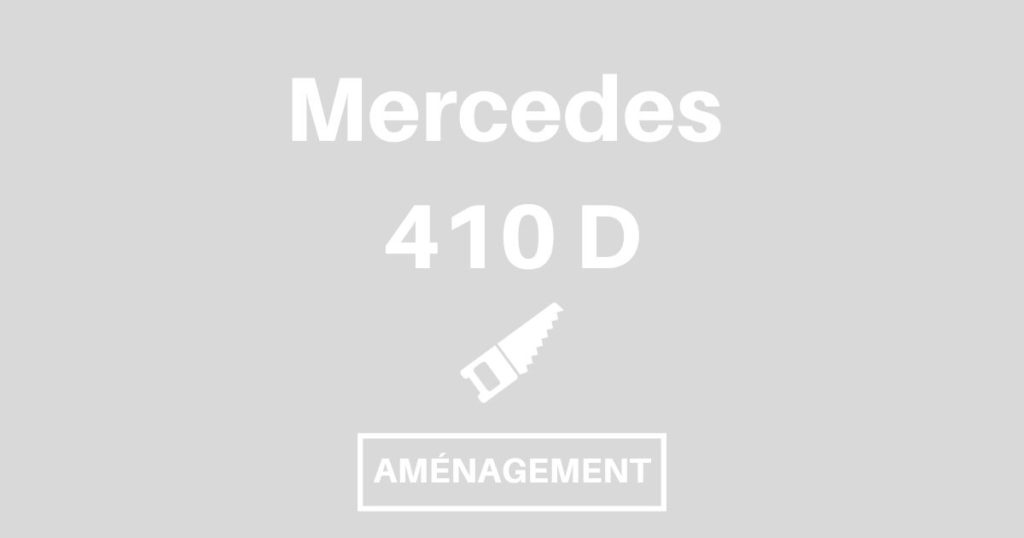 og mercedes 410 d