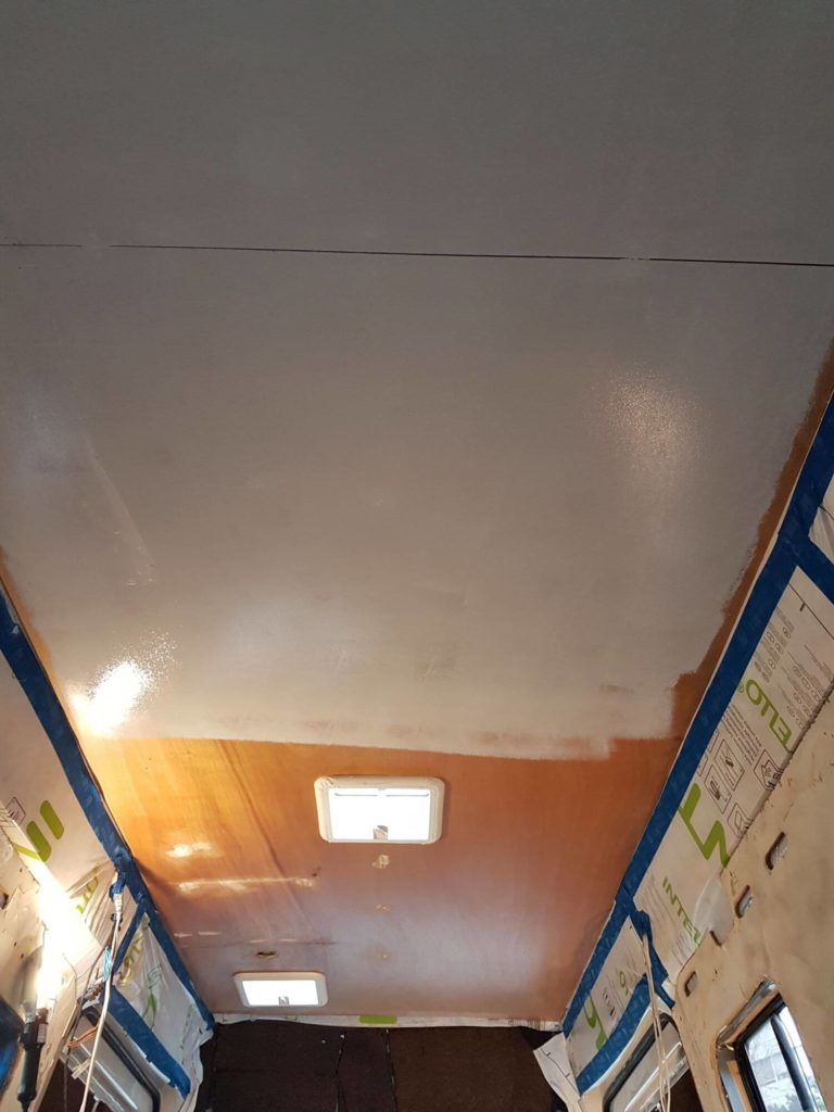 plafond, fourgon aménagé, van