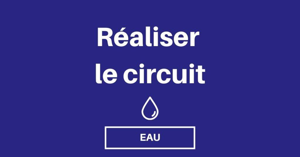 realiser circuit eau van fourgon