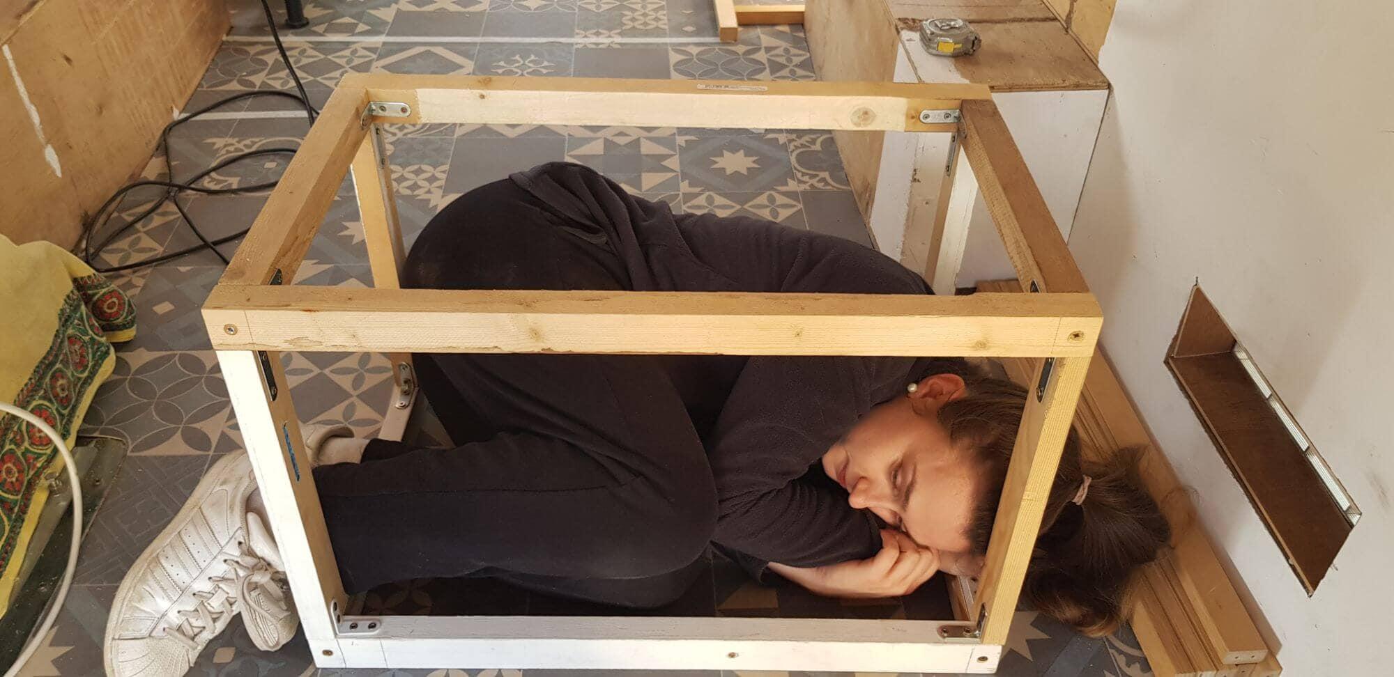 Structure meuble, structure tasseaux