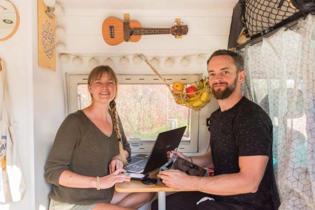 Digital Nomads, Fourgon aménagé, Camping-car, Vanlife